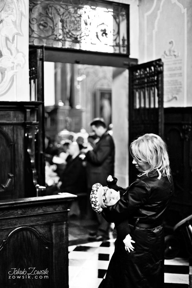 Chrzest Warszawa. Reportaż z uroczystość chrztu Tymoteusza. Kościół św. Anny (Krakowskie Przedmieście) 41