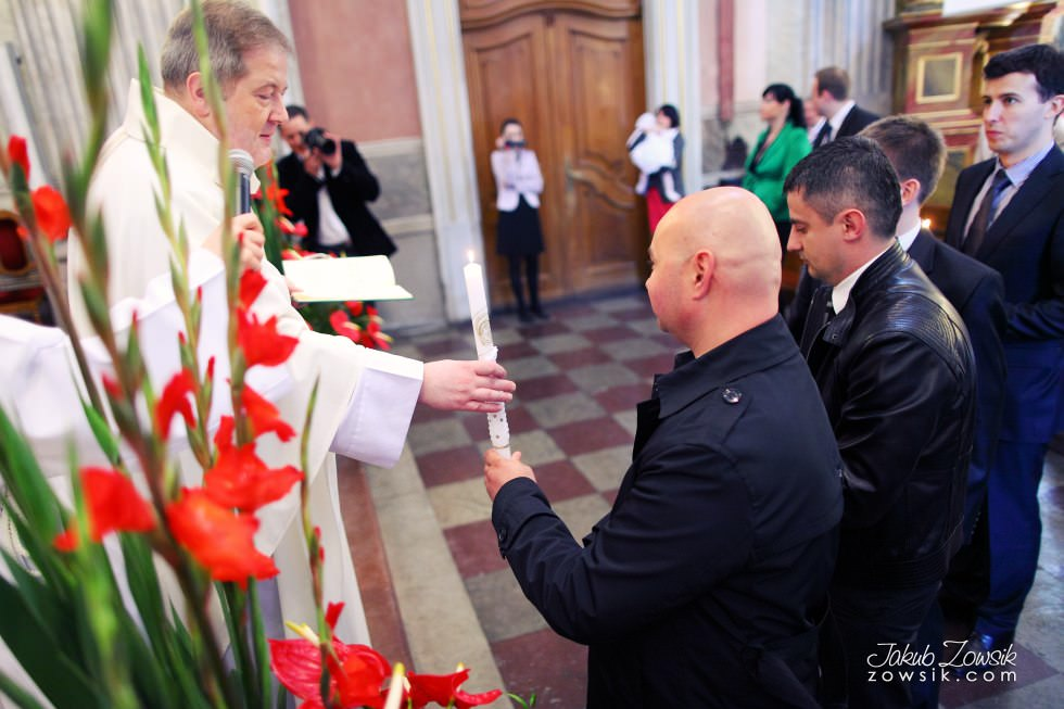 Chrzest Warszawa. Reportaż z uroczystość chrztu Tymoteusza. Kościół św. Anny (Krakowskie Przedmieście) 49