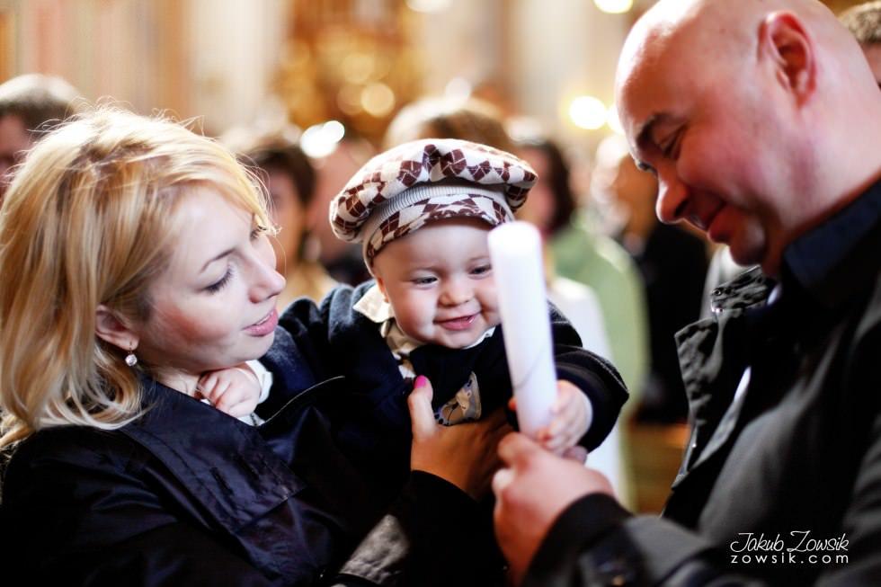 Chrzest Warszawa. Reportaż z uroczystość chrztu Tymoteusza. Kościół św. Anny (Krakowskie Przedmieście) 56