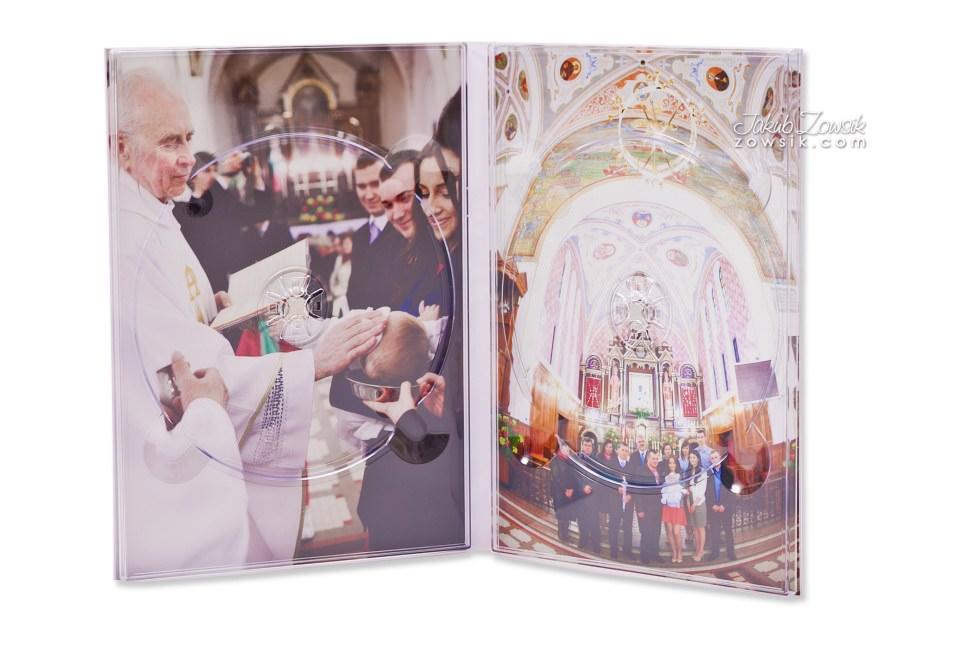 Chrzest Laury. Fotoksiążka, podwójne etui na DVD, DVD z nadrukiem. 14