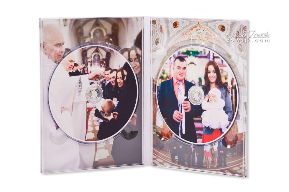 Chrzest Laury. Fotoksiążka, podwójne etui na DVD, DVD z nadrukiem. 12