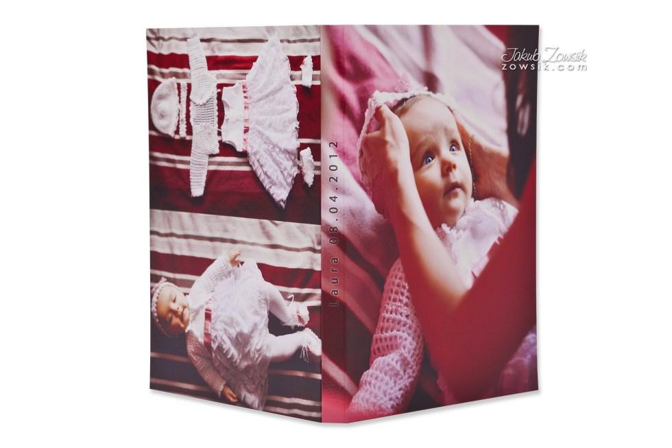 Chrzest Laury. Fotoksiążka, podwójne etui na DVD, DVD z nadrukiem. 10