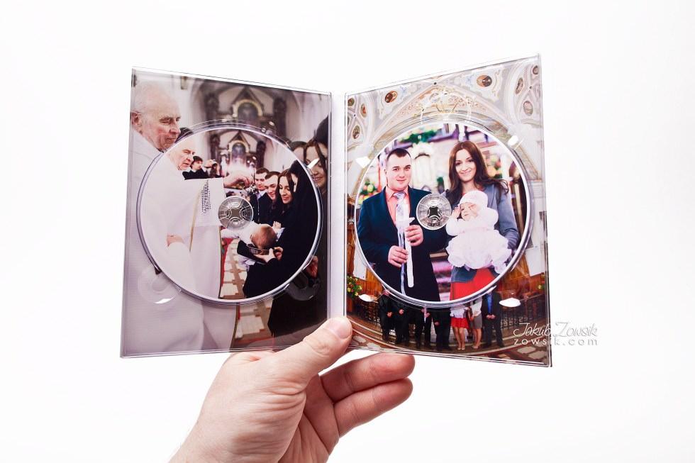 Chrzest Laury. Fotoksiążka, podwójne etui na DVD, DVD z nadrukiem. 13