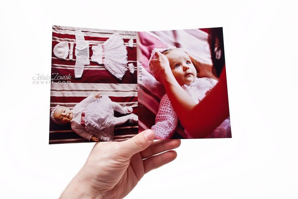 Chrzest Laury. Fotoksiążka, podwójne etui na DVD, DVD z nadrukiem. 11