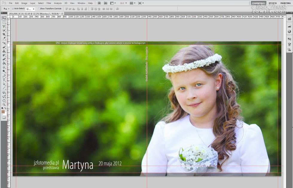 Martyna. Fotoksiążka - I komunia, zdjęcia. 11