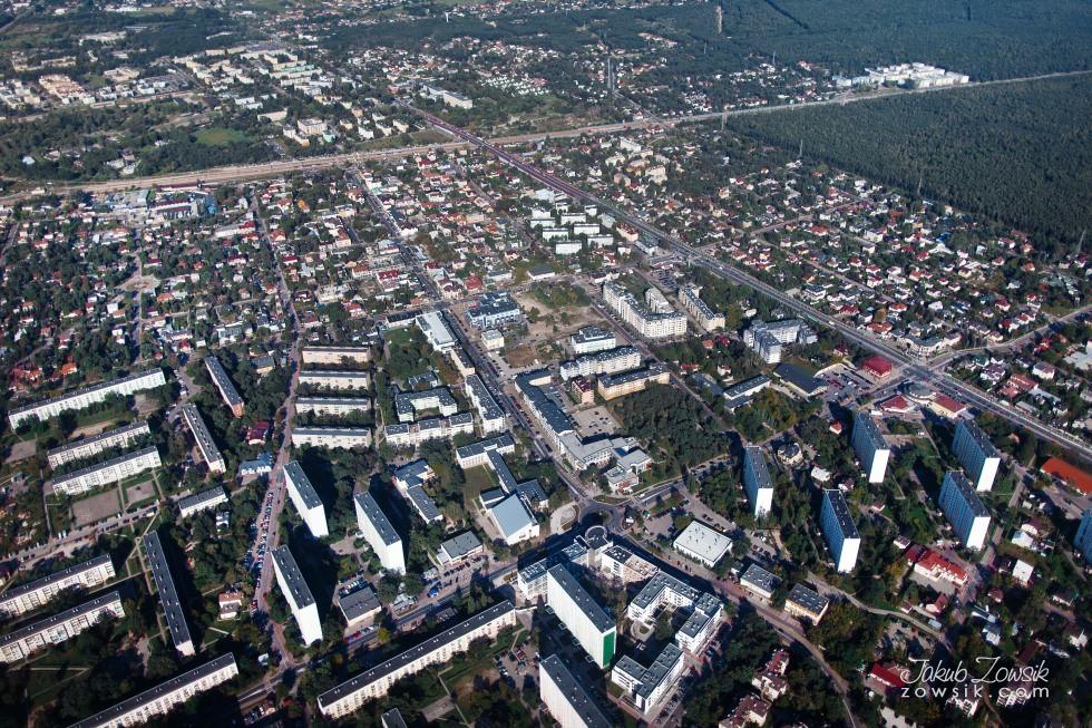 Warszawa i okolice z lotu ptaka. 7