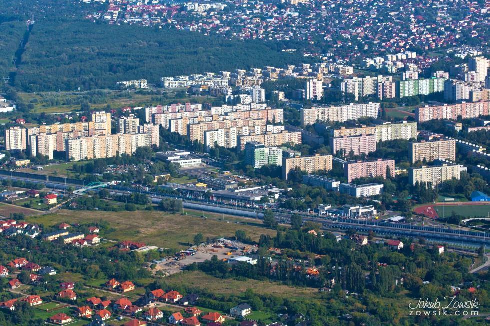 Warszawa i okolice z lotu ptaka. 23
