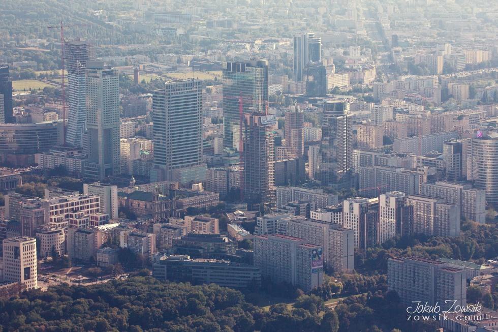 Warszawa i okolice z lotu ptaka. 27