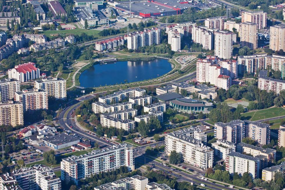 Warszawa i okolice z lotu ptaka. 33