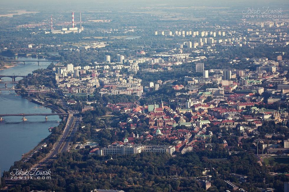Warszawa i okolice z lotu ptaka. 44