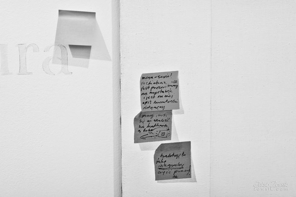 """Kulturalny czwartek w CSW (marzec 2013). Cinthia Marcelle - Automóvel; Wideo – prezentacje; Michał Frydrych """"Zamienię obraz na tysiąc słów"""". 6"""
