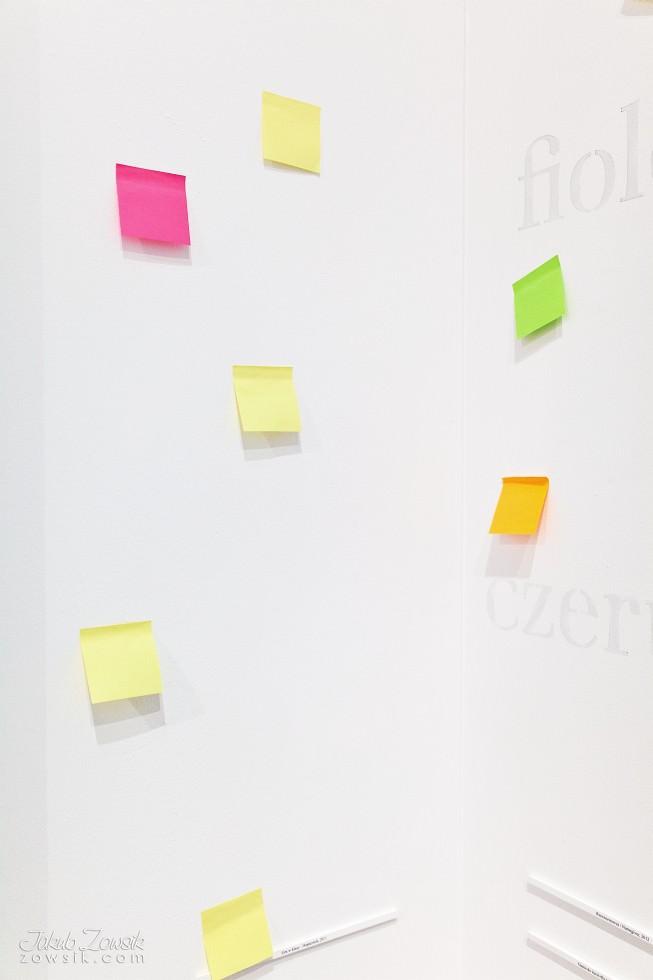 """Kulturalny czwartek w CSW (marzec 2013). Cinthia Marcelle - Automóvel; Wideo – prezentacje; Michał Frydrych """"Zamienię obraz na tysiąc słów"""". 7"""