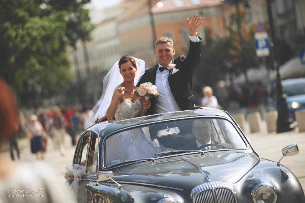 Zdjęcia ślubne Warszawa. Paulina & Mateusz – uroczystość zaślubin. 1