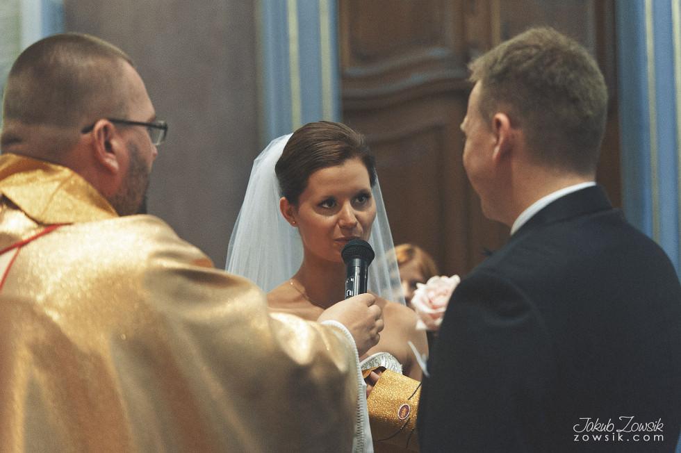 Zdjęcia ślubne Warszawa. Paulina & Mateusz – uroczystość zaślubin. 22