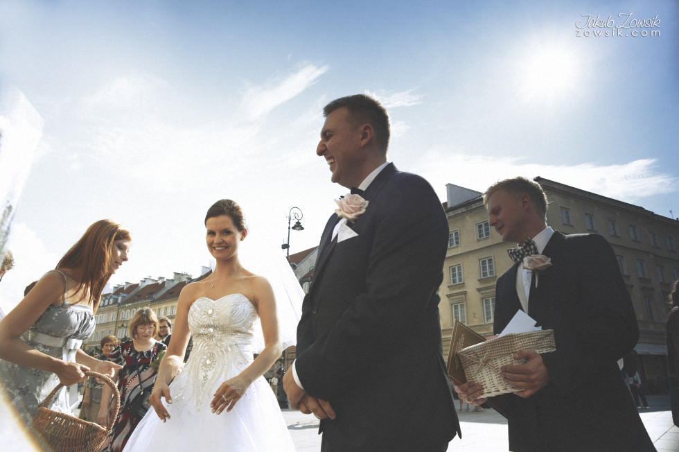 Zdjęcia ślubne Warszawa. Paulina & Mateusz – uroczystość zaślubin. 65