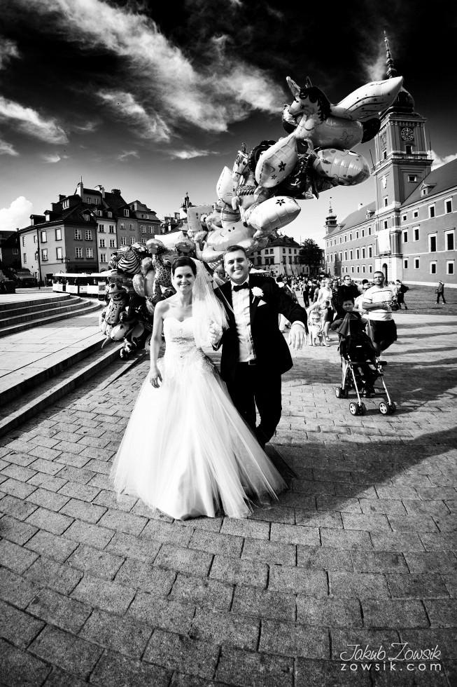 Zdjęcia ślubne Warszawa. Paulina & Mateusz – przyjęcie. 11