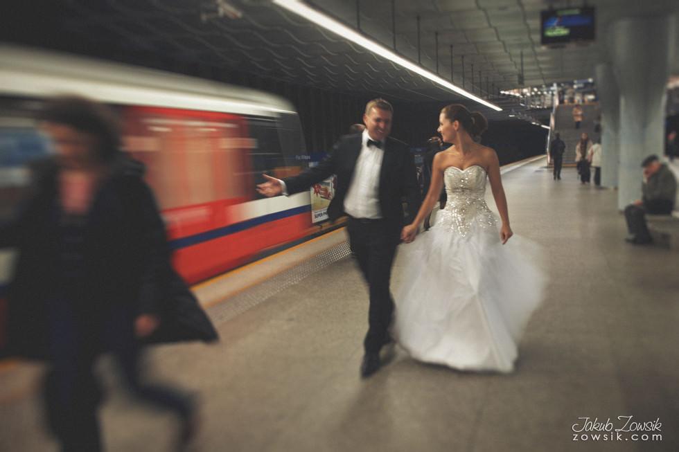 Zdjęcia ślubne Warszawa. Paulina & Mateusz – plener. 8