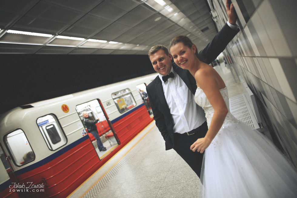 Zdjęcia ślubne Warszawa. Paulina & Mateusz – plener. 11