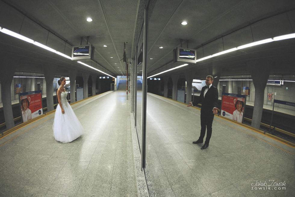 Zdjęcia ślubne Warszawa. Paulina & Mateusz – plener. 18