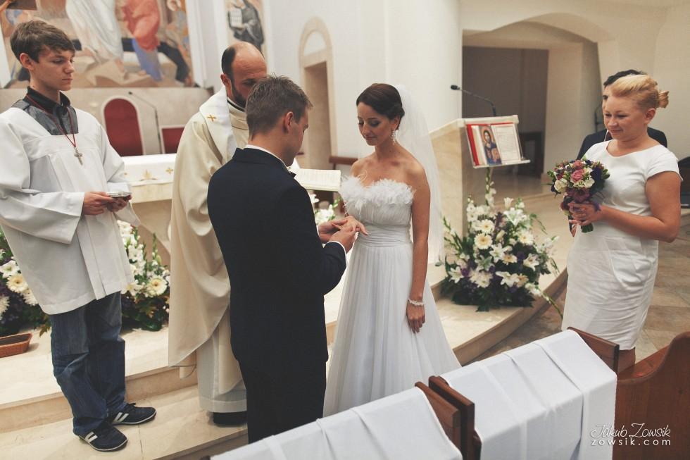 Zdjęcia ślubne Warszawa. Justyna & Karol – uroczystość zaślubin 22
