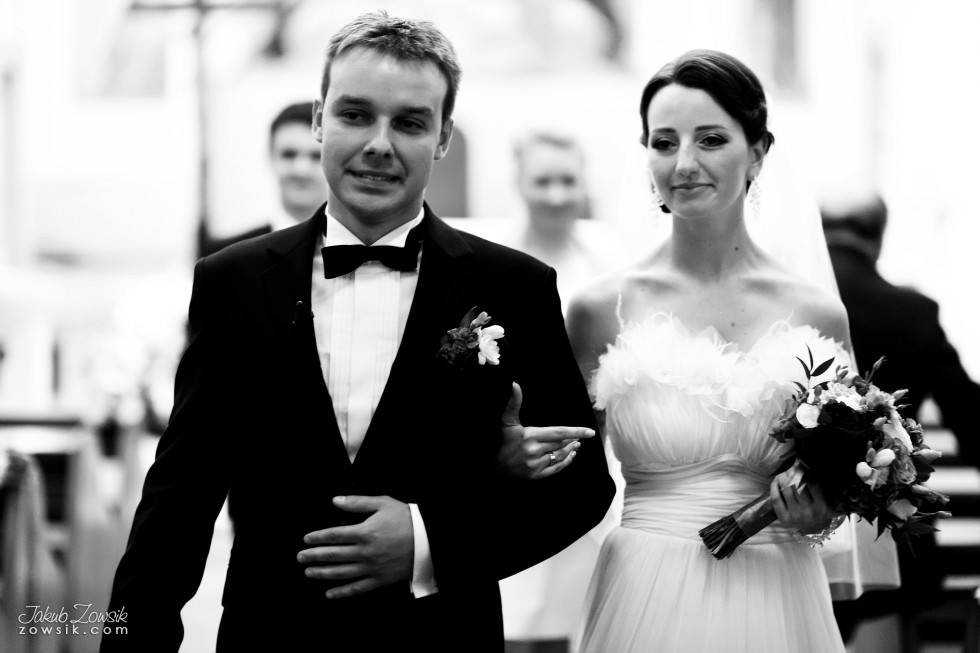 Zdjęcia ślubne Warszawa. Justyna & Karol – uroczystość zaślubin 39