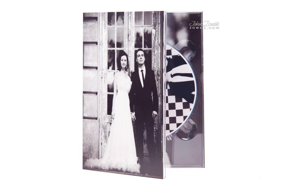 Ekskluzywne etui na DVD, płyty DVD z nadrukiem. Justyna & Karol 1