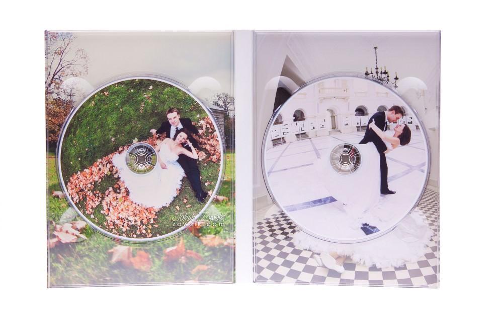 Ekskluzywne etui na DVD, płyty DVD z nadrukiem. Justyna & Karol 9