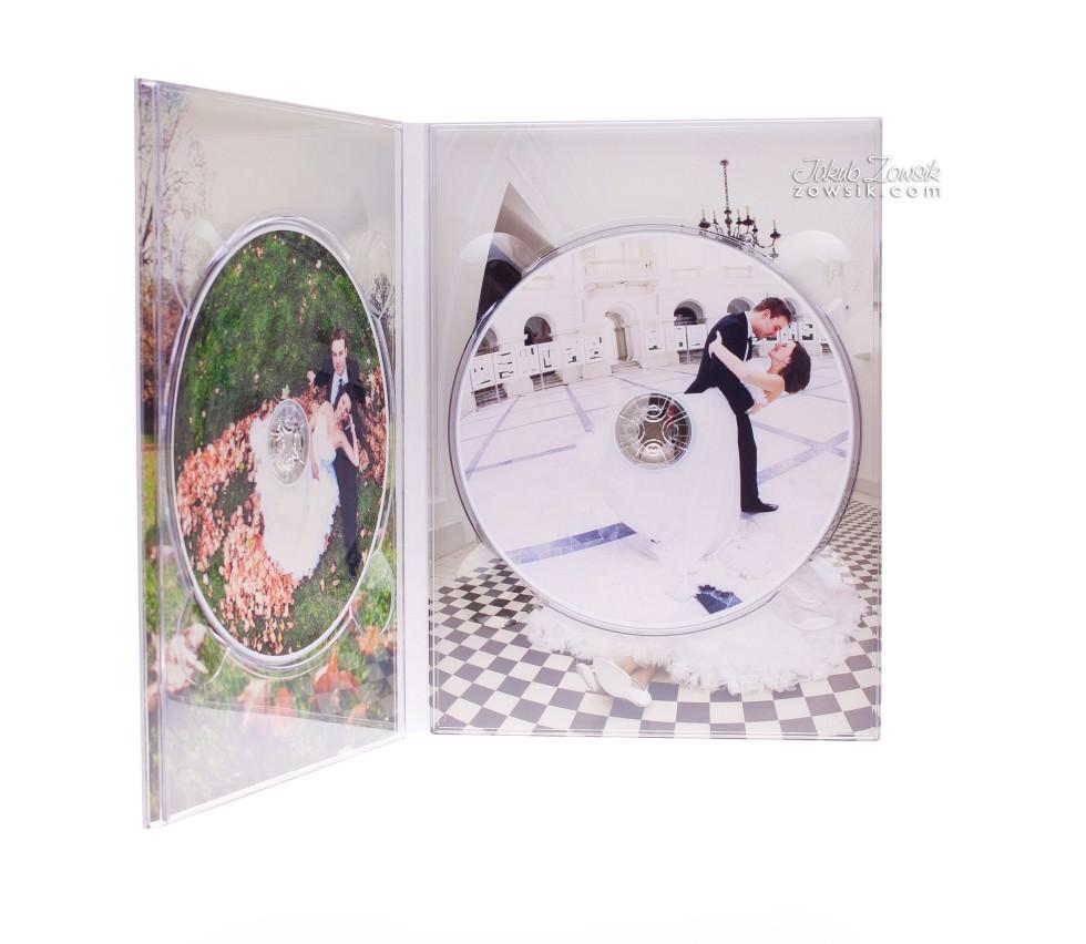 Ekskluzywne etui na DVD, płyty DVD z nadrukiem. Justyna & Karol 11