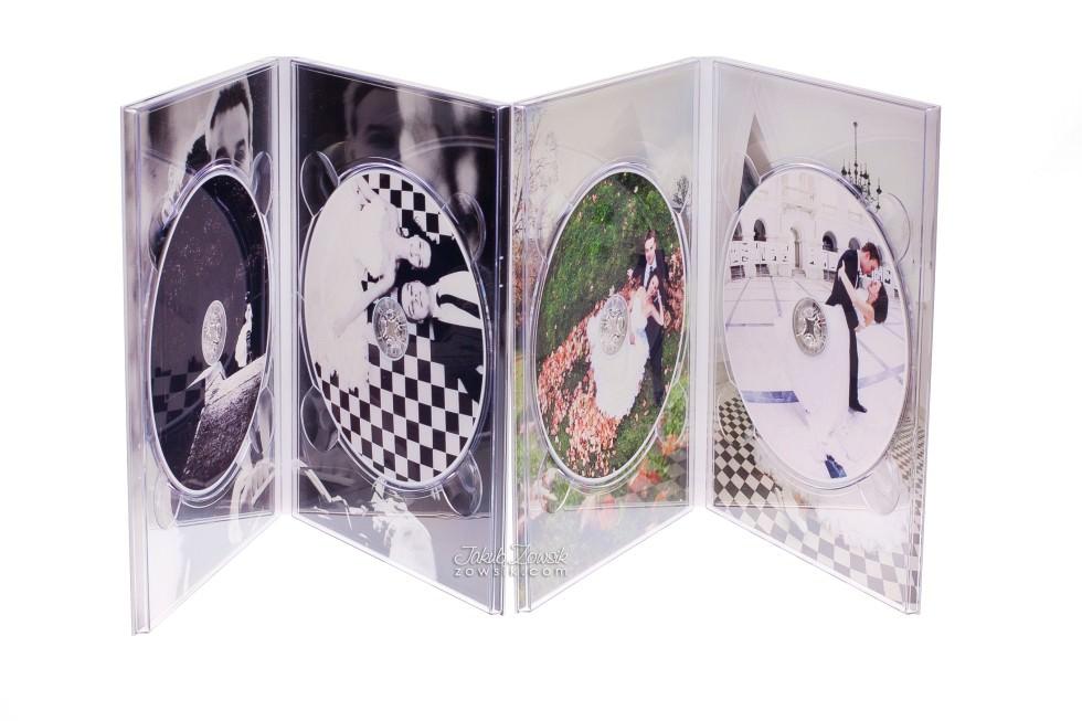 Ekskluzywne etui na DVD, płyty DVD z nadrukiem. Justyna & Karol 13