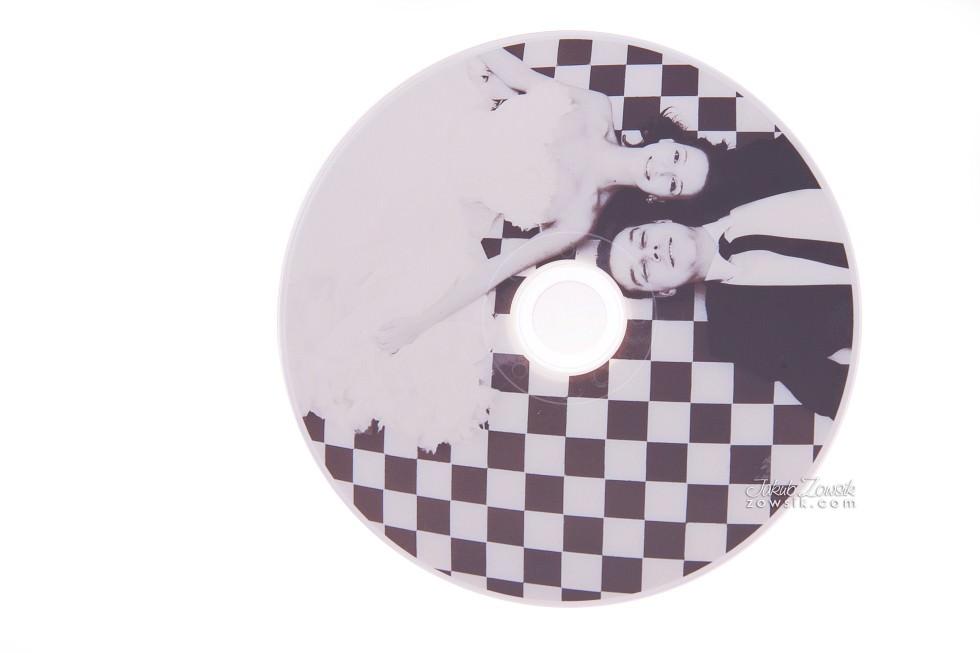 Ekskluzywne etui na DVD, płyty DVD z nadrukiem. Justyna & Karol 21