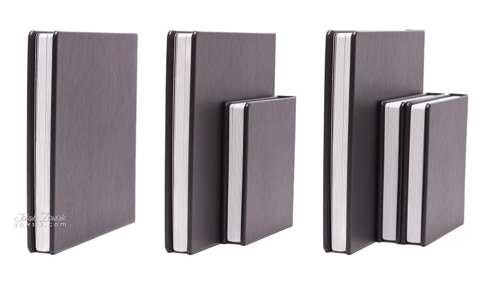 Ekskluzywna fotoksiążka - pakiet 1+2 (album 30x30cm + 2 albumy 20x20cm). Justyna & Karol 2