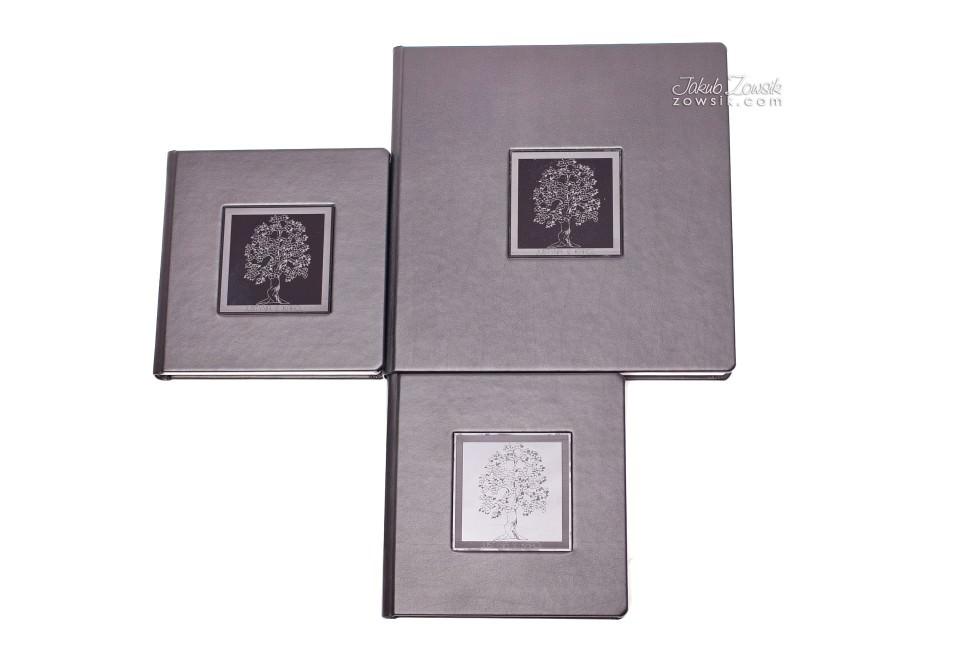 Ekskluzywna fotoksiążka - pakiet 1+2 (album 30x30cm + 2 albumy 20x20cm). Justyna & Karol 7