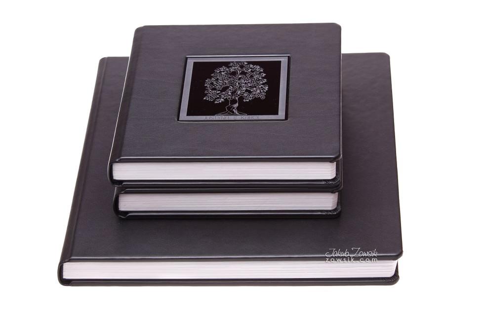 Ekskluzywna fotoksiążka - pakiet 1+2 (album 30x30cm + 2 albumy 20x20cm). Justyna & Karol 1