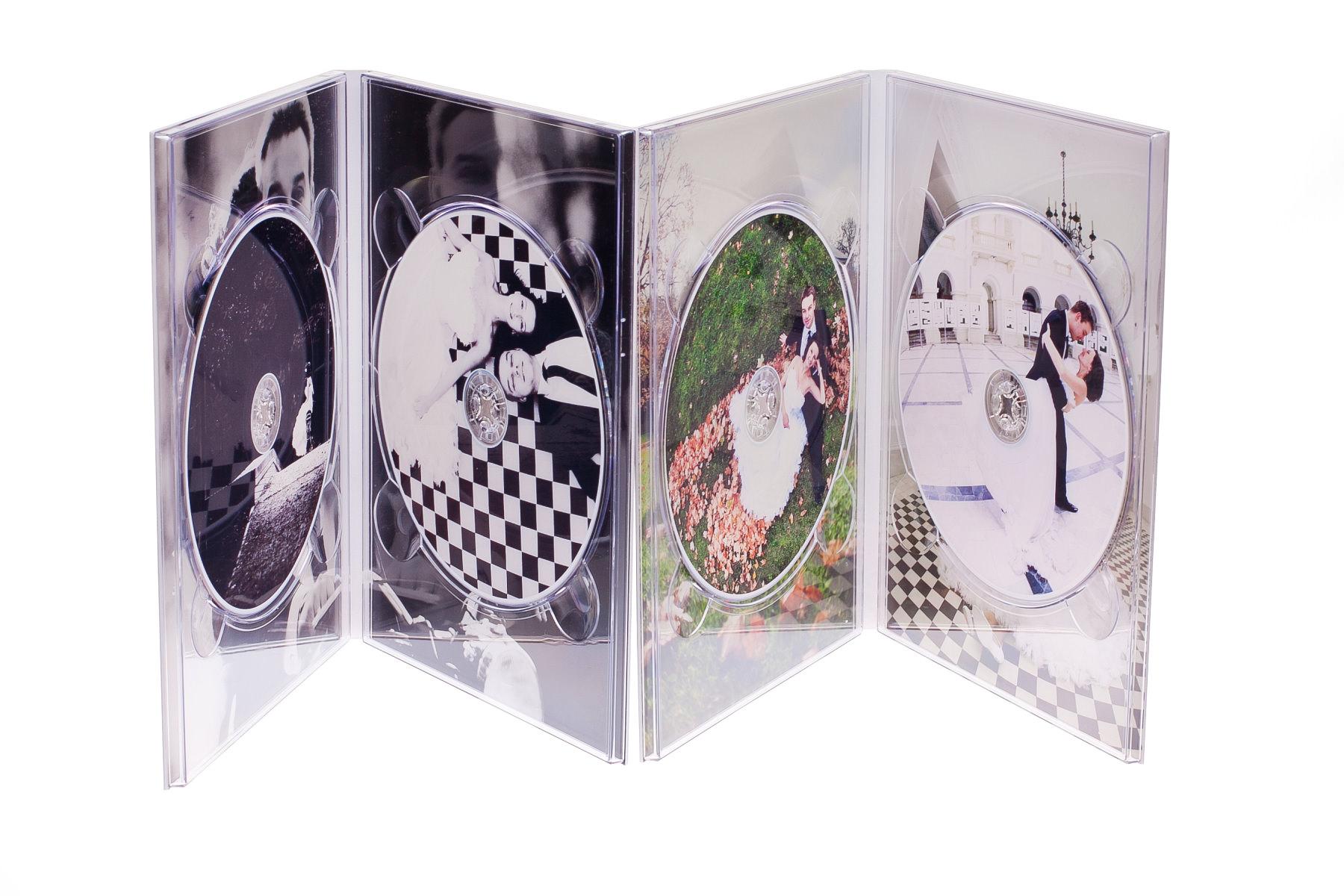 Ekskluzywne etui na DVD, płyty DVD z nadrukiem. Justyna & Karol