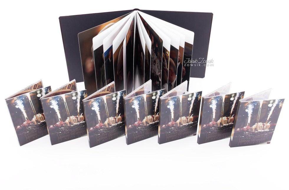 Setne urodziny w oprawie czyli kolejna odsłona fotoksiążki oraz etui na DVD i płyt DVD z nadrukiem 24