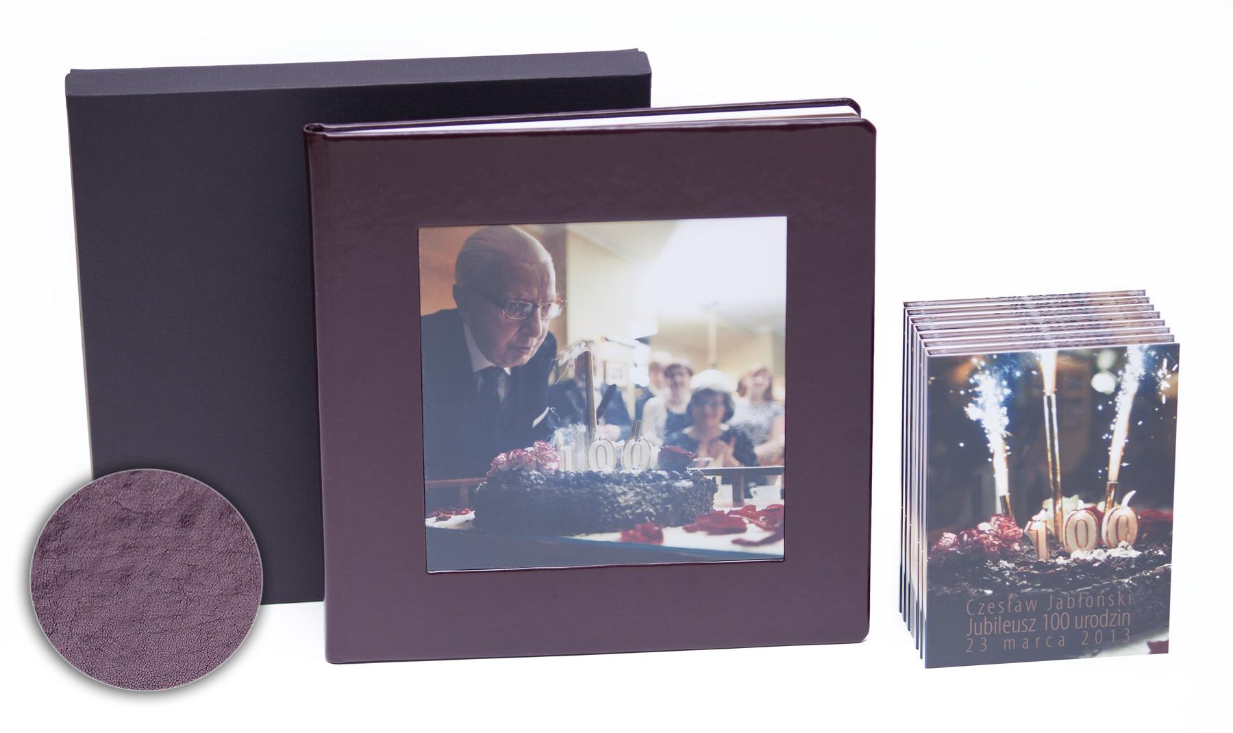 Setne urodziny w oprawie czyli kolejna odsłona fotoksiążki oraz etui na DVD i płyt DVD z nadrukiem