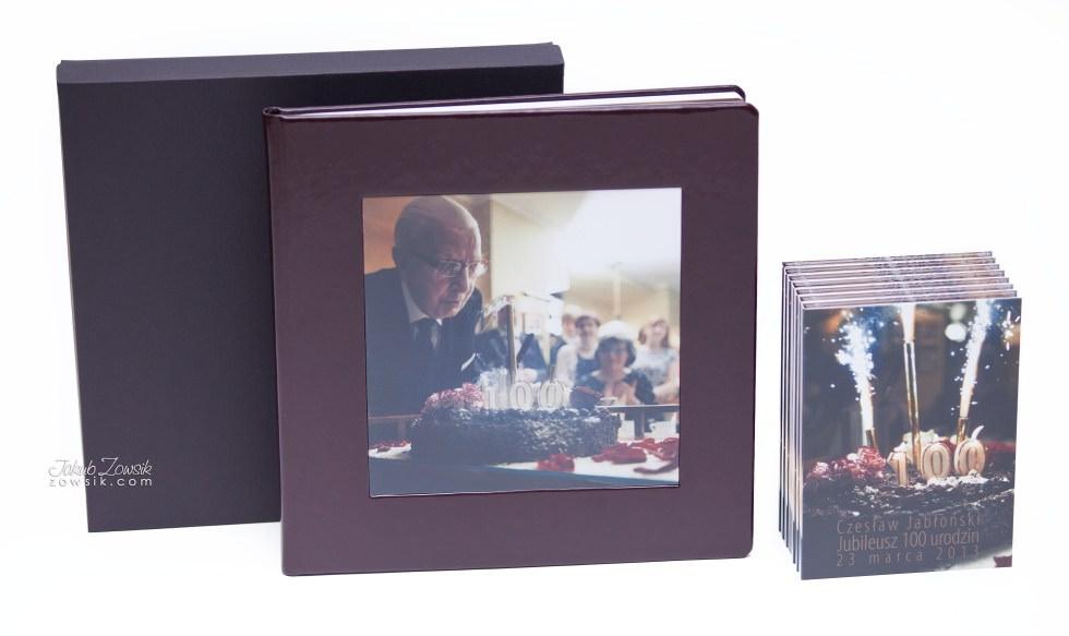 Setne urodziny w oprawie czyli kolejna odsłona fotoksiążki oraz etui na DVD i płyt DVD z nadrukiem 23