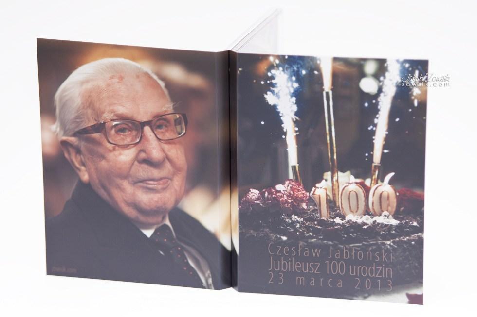 Setne urodziny w oprawie czyli kolejna odsłona fotoksiążki oraz etui na DVD i płyt DVD z nadrukiem 25