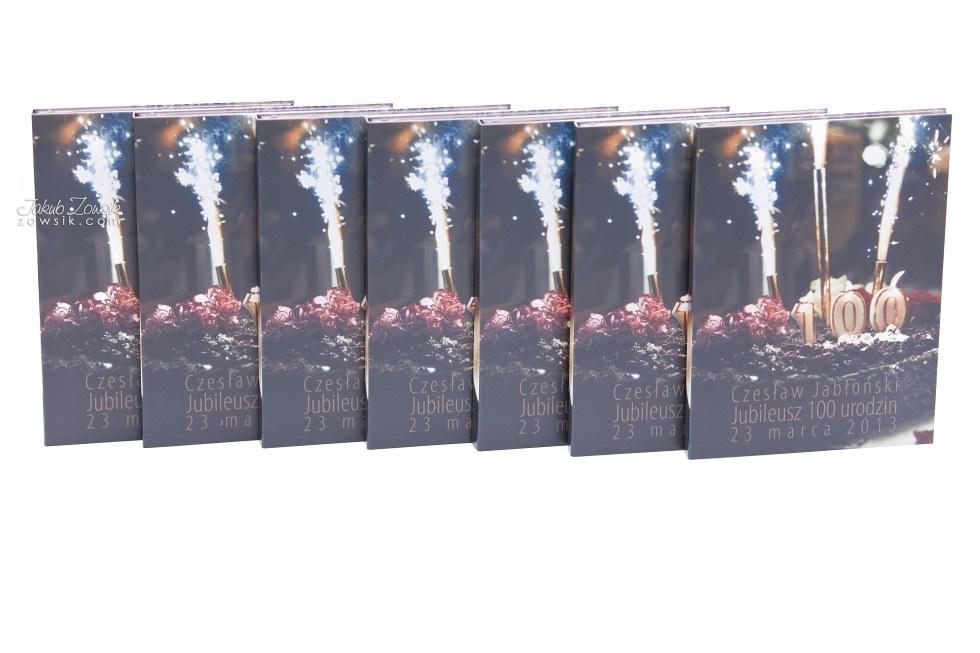 Setne urodziny w oprawie czyli kolejna odsłona fotoksiążki oraz etui na DVD i płyt DVD z nadrukiem 35