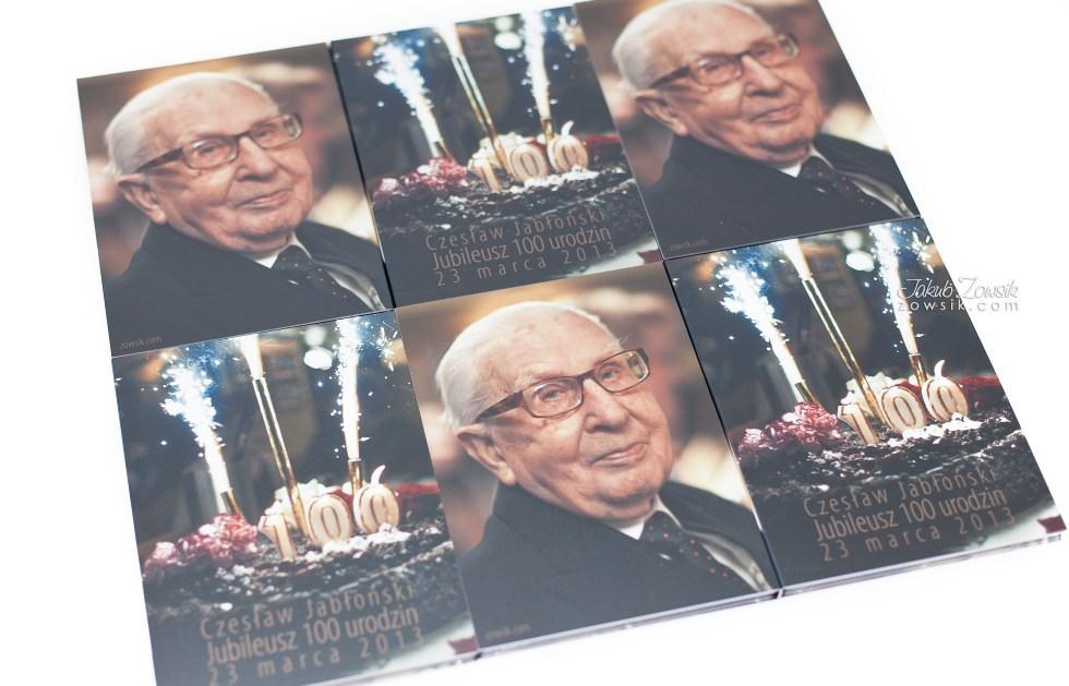 Setne urodziny w oprawie czyli kolejna odsłona fotoksiążki oraz etui na DVD i płyt DVD z nadrukiem 40