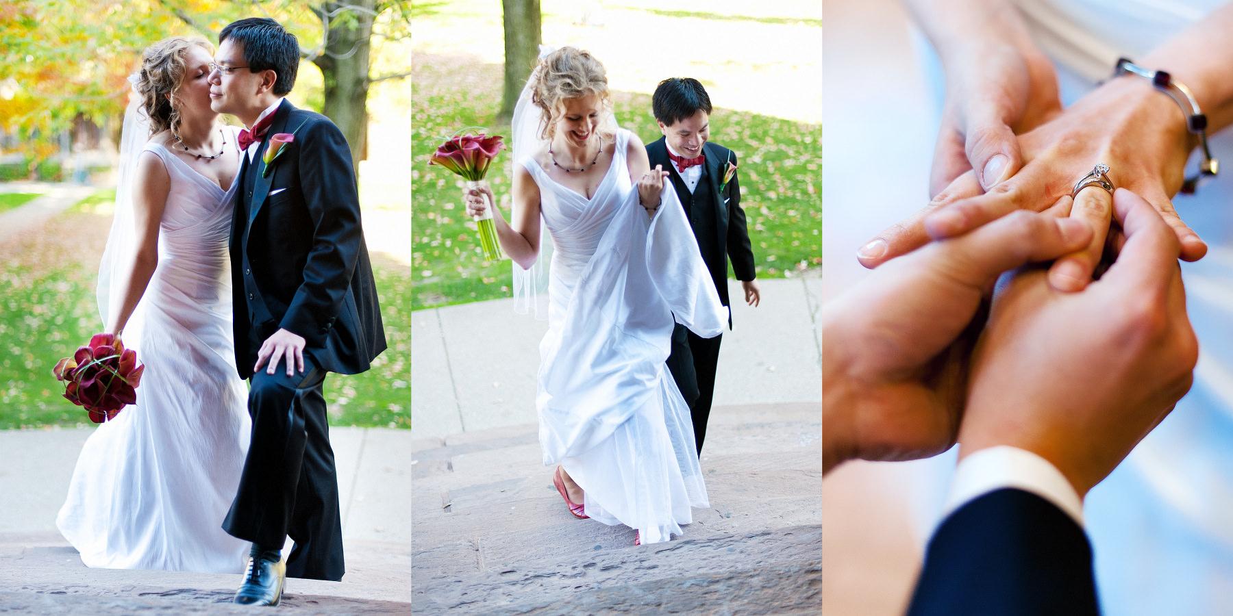 Toronto. Dominika & Michael – ceremonia zaślubin