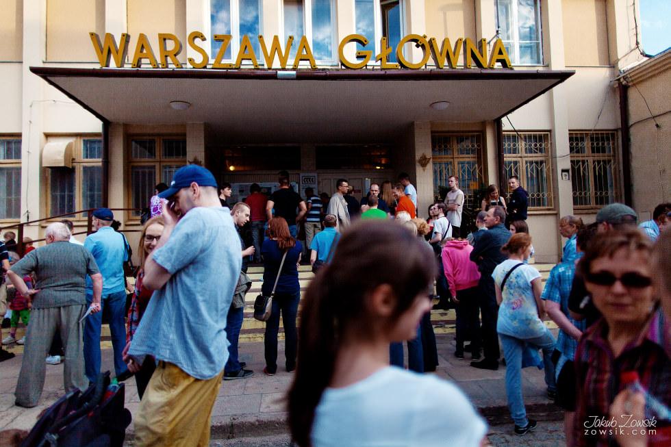 Noc Muzeów 2013 Warszawa - Muzeum Kolejnictwa 2