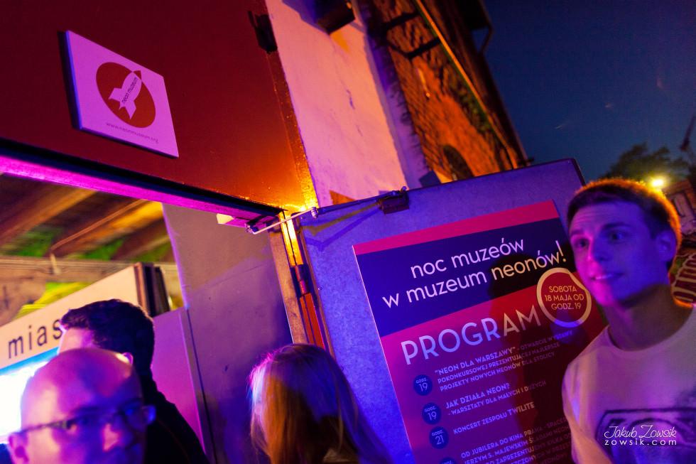 Noc Muzeów 2013 Warszawa – Muzeum Neonów 9