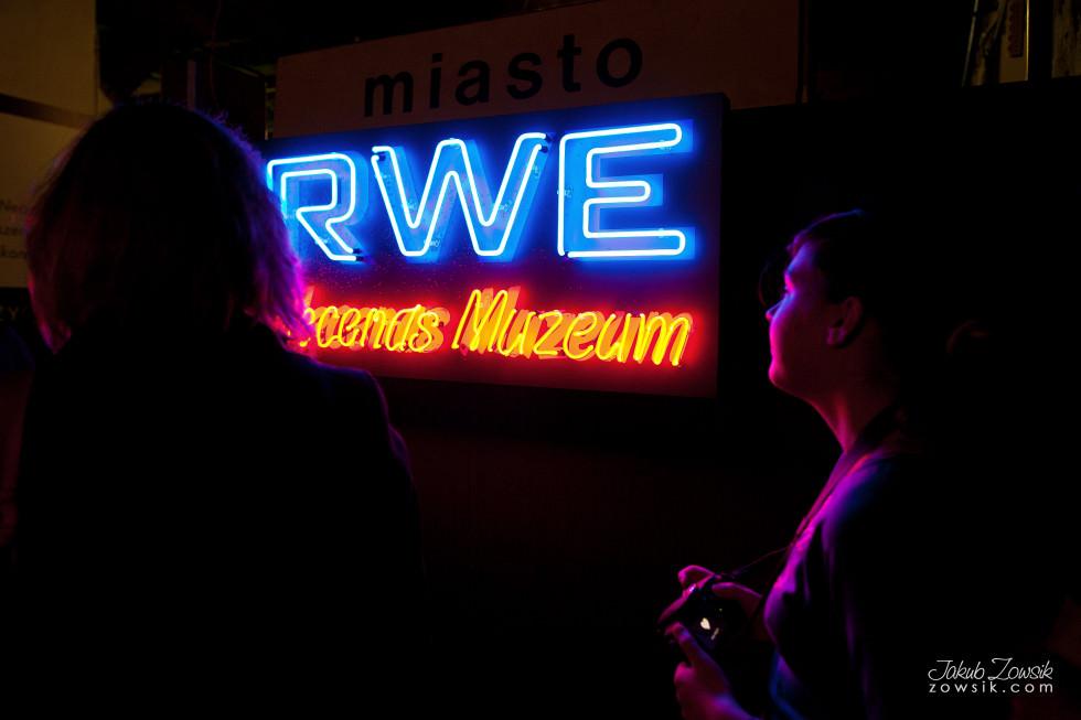 Noc Muzeów 2013 Warszawa – Muzeum Neonów 10