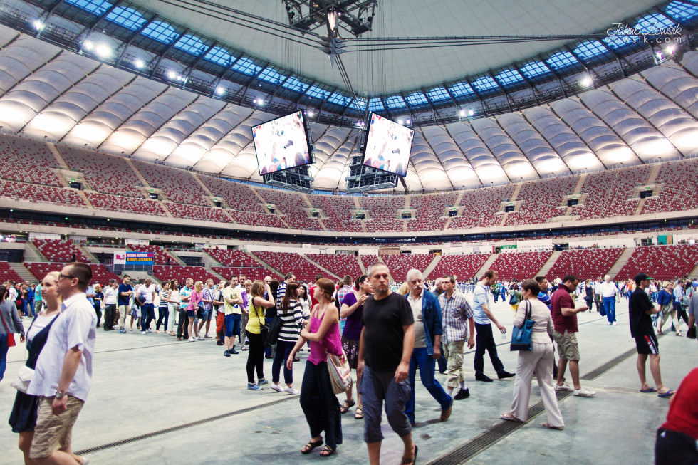 Noc Muzeów 2013 Warszawa – Stadion Narodowy 12