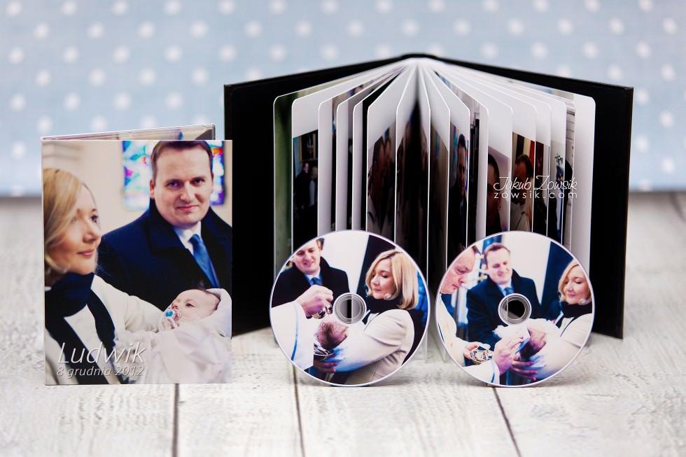 Ekskluzywny fotoalbum, etui na DVD + płyty dvd. Chrzciny Ludwika. 31