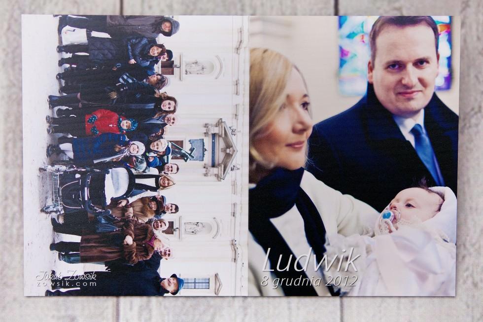 Ekskluzywny fotoalbum, etui na DVD + płyty dvd. Chrzciny Ludwika. 30