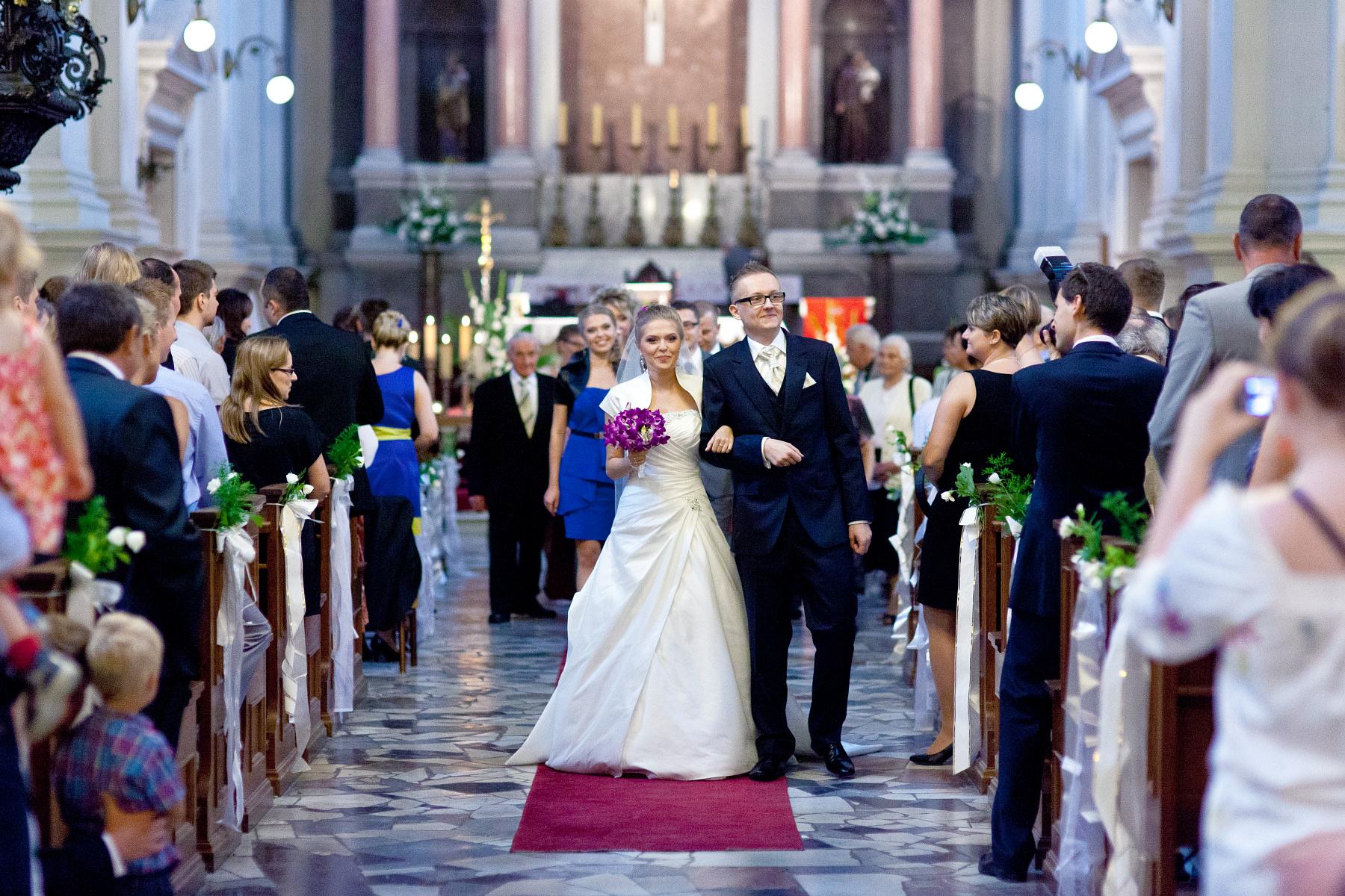 Zdjęcia ślubne Warszawa. Marta & Grzegorz, ceremonia zaślubin.