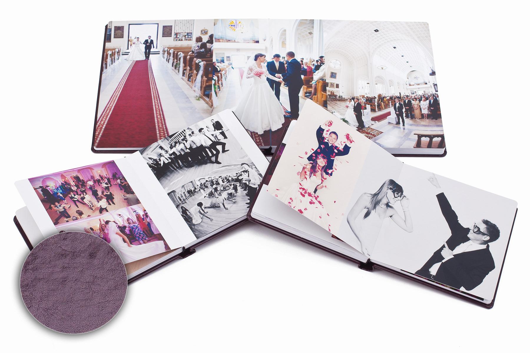 Fotoalbum 30×30 (4 okna), powiększony o 2 albumy 20×20 zestaw, płyty DVD + etui na dvd. Marta i Ryszard.