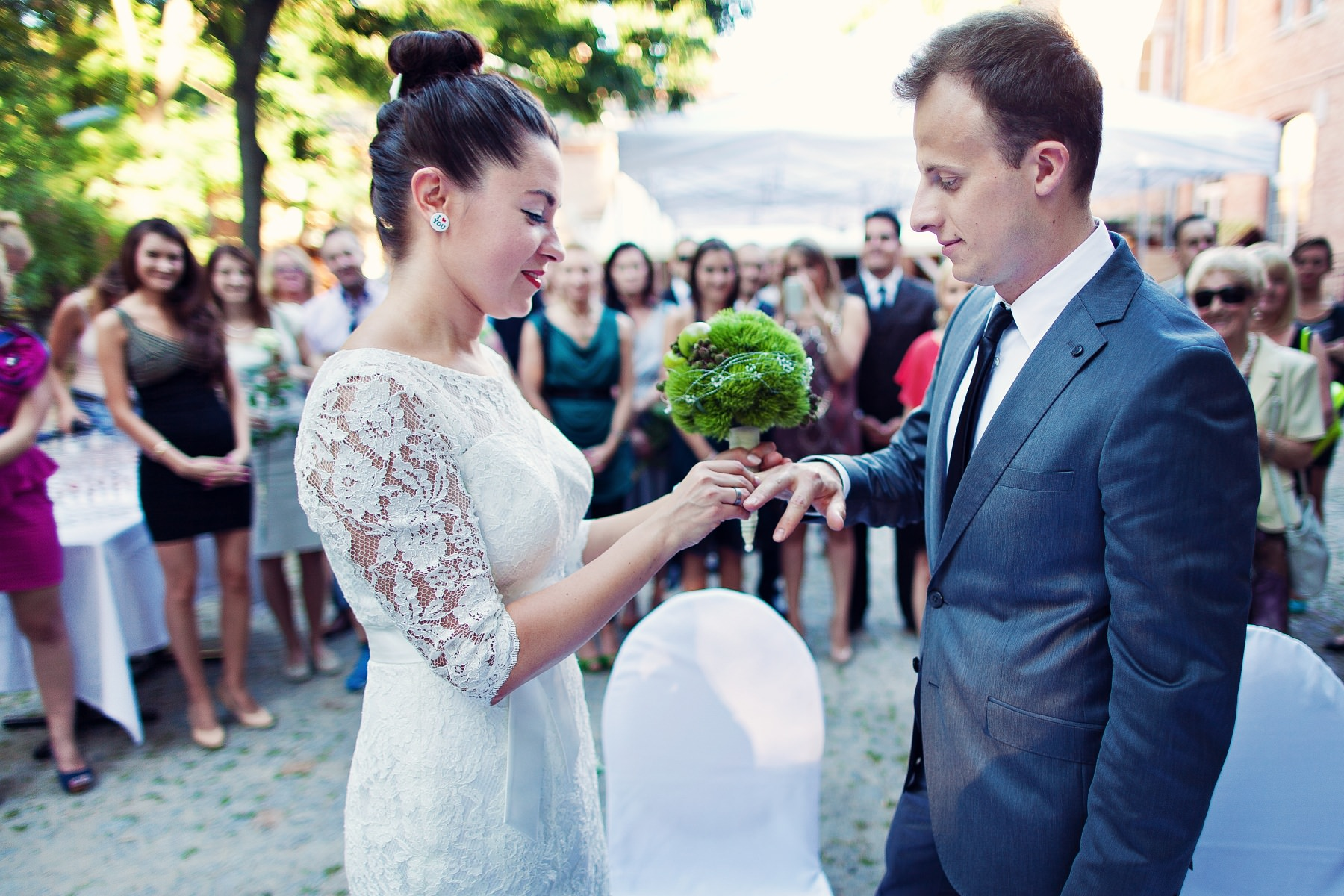 LOVE. Marta & Kamil, ceremonia.